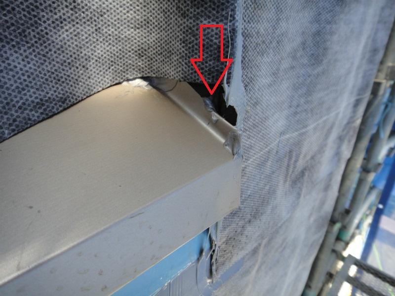 6 サッシ周り防水処理不具合