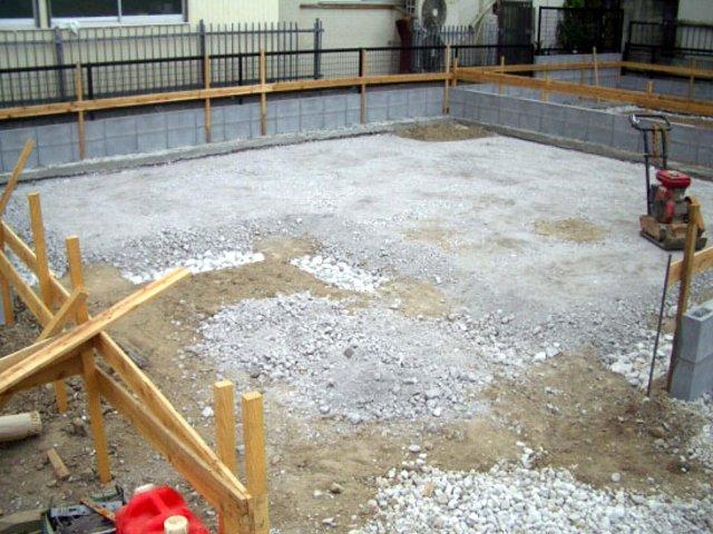 新築一戸建て工事中のチェックポイント ② 基礎工事(根切り~捨てコンクリート)