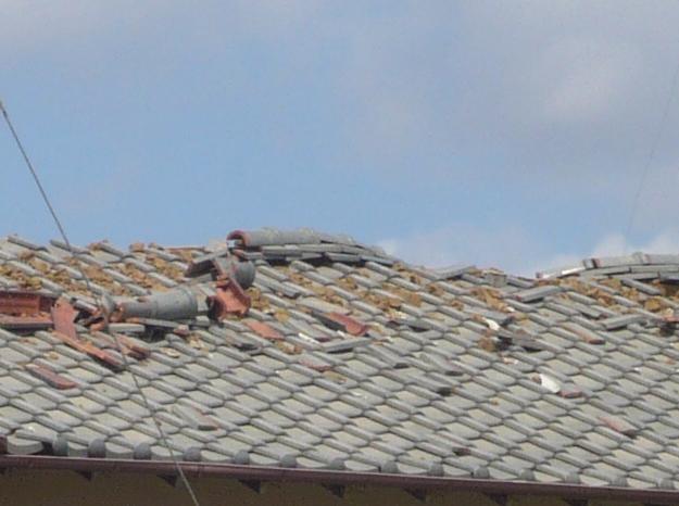 雹(ひょう)で屋根が壊れたら火災保険で補償