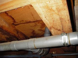 中古住宅に水漏れ 大丈夫か?