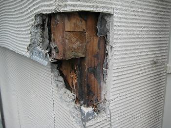 新築のときからずっと雨漏り