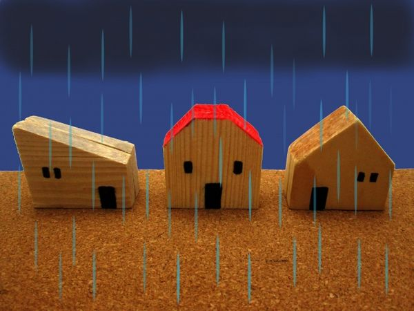 問題アリ?ナシ?一戸建て新築工事中の雨の影響