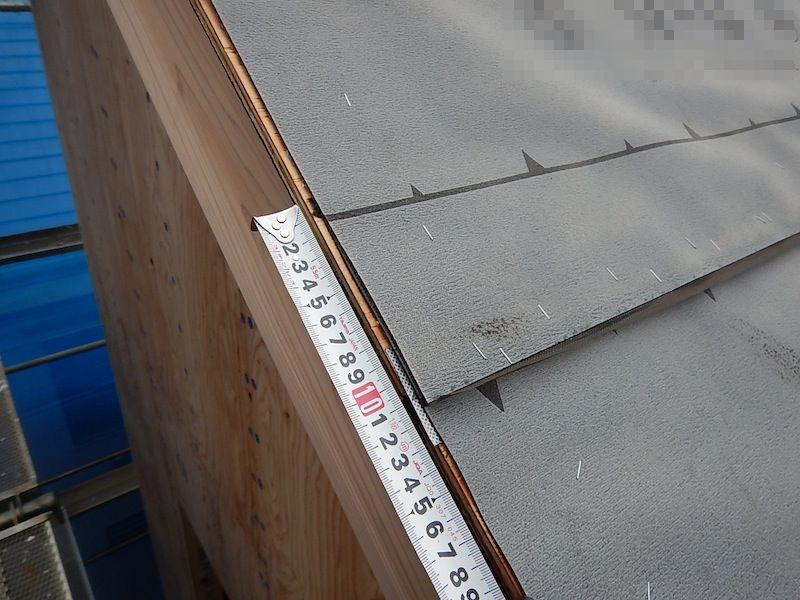 屋根防水(アスファルトルーフィング)