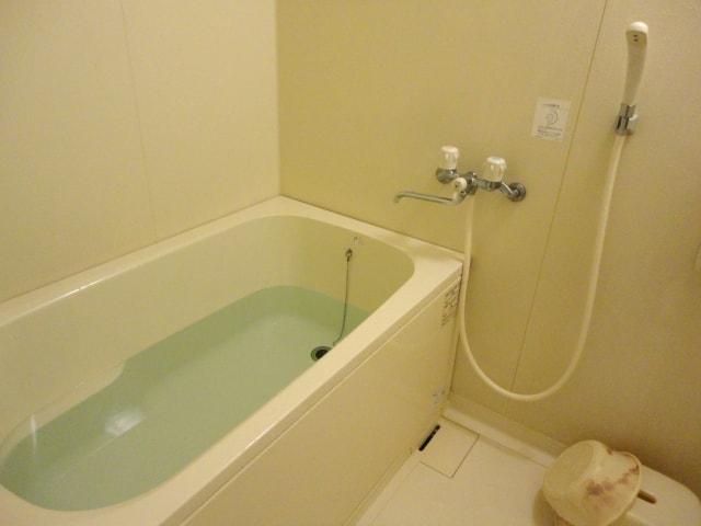 前日はお風呂に水を準備